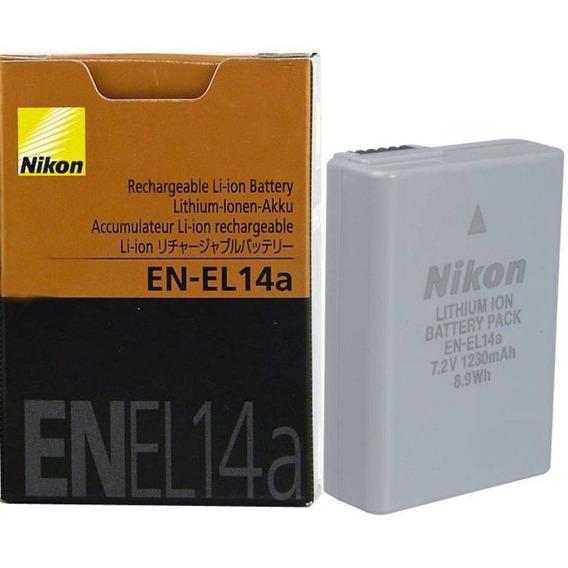 Bateria Recarregavel Em-el14a Nikon