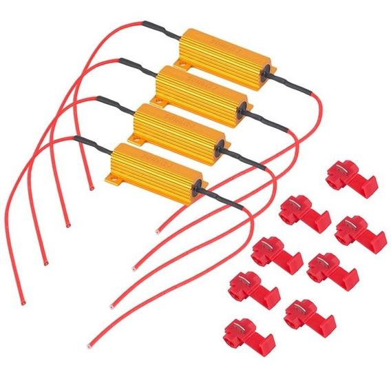 4x Resistores 50w 6 Ohm Canceller Para Led