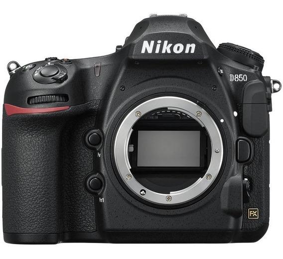 Corpo Câmera Full Frame Nikon Fx D850 Garantia Nfe
