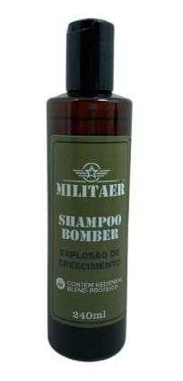 Shampoo Bomber 240ml - Militaer