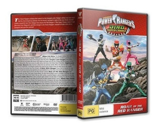 Dvds Power Rangers Dino Super Charge Série Completa
