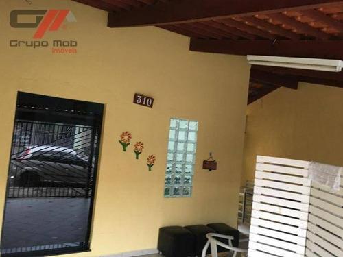Imagem 1 de 6 de Casa Com 2 Dormitórios À Venda Por R$ 260.000 - Jardim Das Bandeiras - Taubaté/sp - Ca0212