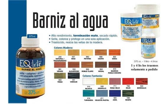 Barniz Al Agua Eq Arte 375 Ml