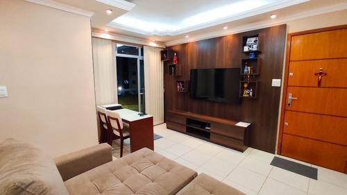 Imagem 1 de 19 de Apartamento De 2 Quartos Com Varanda A Venda No Fonte Grande - 25256