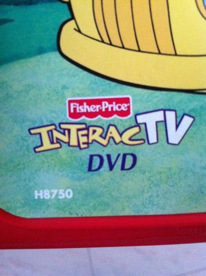 Juegos Interactv Fisher Price, Solo Dvd, Estuches Y Guias