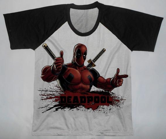 Camisetas Deadpool Infantis - Qad