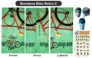 Bandana Bike Retro 2 Muhu Cod 306