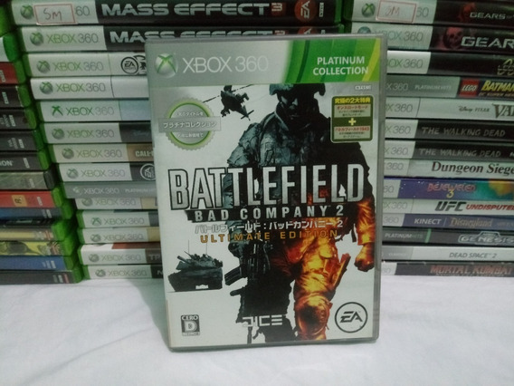Cd Battlefield 2 Bad Company Xbox 360 Japones Ntsc-j