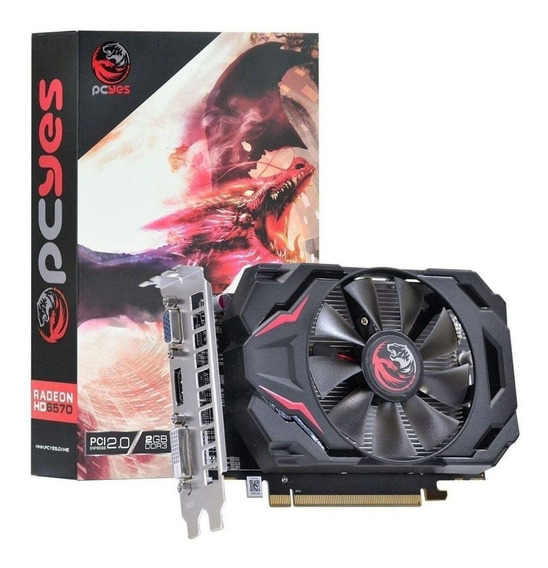 Placa de vídeo AMD Pcyes Radeon HD 6000 Series HD 6570 PW657012802D3 2GB