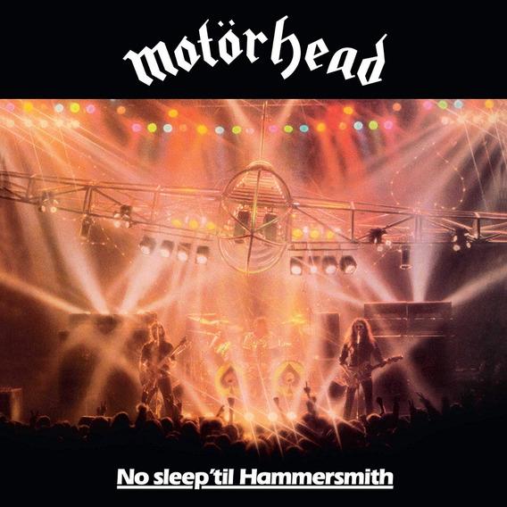 Cd Motorhead- No Sleep ´til Hammersmith Lacrado