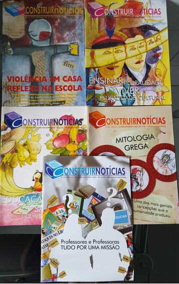 Revistas Pedagógicas Construir Notícia, Faça Parte........