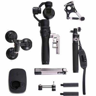 Câmera Dji Osmo 4k Com Kit De Accessorios - Nova! S/uso!