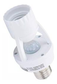 Sensor Presença C/ Fotocélula P/ Lâmpada Soquete E27 - Nf