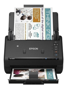 Scanner De Documentos Epson Workforce Es-500w Bivolt Preto