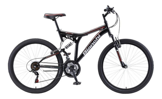 Bicicleta De Montaña Bianchi Pro Dsx Negro Aro 26