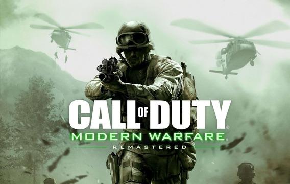 Call Of Duty Modern Warfare Remastered Pc - Dvd