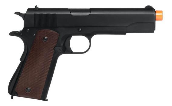 Pistola De Airsoft À Gás Gbb Co2 M1911a1 Blowback 6mm - Ksc