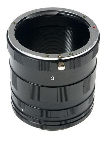 Tubo Extensor Para Macro Fotografia Câmera Nikon Ef Mount