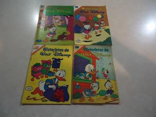 Lote De 4 Comics De Historietas De Walt Disney / Novaro