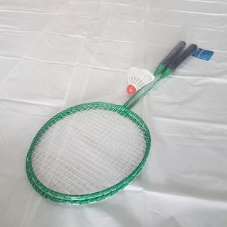 Raqueta Badminton, Incluye 2 Piezas, Con Gallito