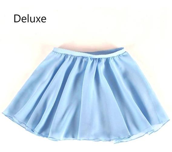Combo 9x Falda Ballet Tutu Niña Chifón Bailarina Infantil