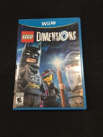 Lego Dimensions Wii U - Somente Jogo Midia Fisica Sem Kit