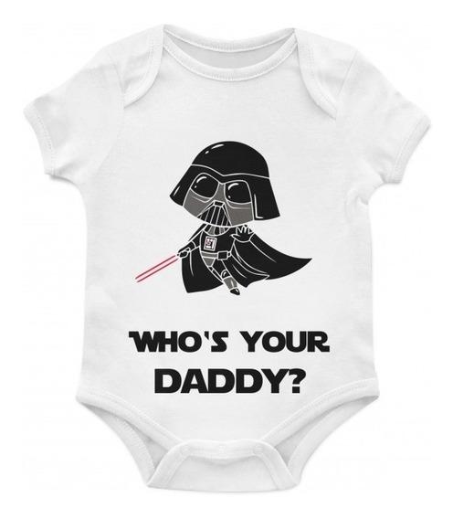 Body Bebê Daddy Darth Tam G Artgeek