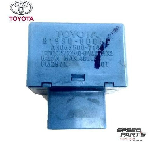 Relê Pisca Alerta Corolla 81980-0d050 Ah066500-7140 Original
