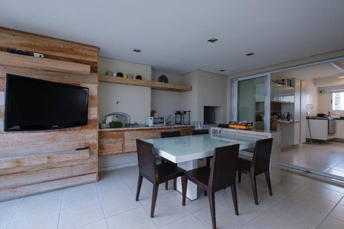 Varanda Gourmet - Apartamento 200m² - 3 Dorms (3 Suítes) - 3 Vagas - Bairro Mirandópolis - Ap12386