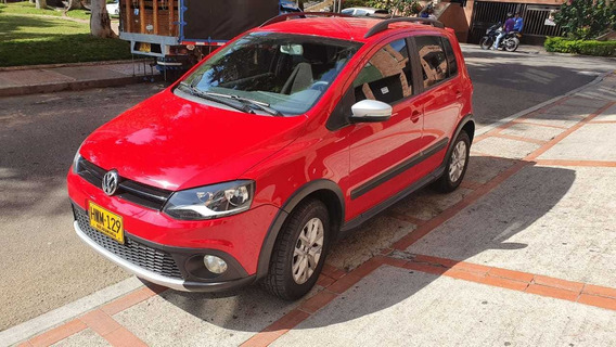 Volkswagen Crossfox 1.6 2015 Rojo