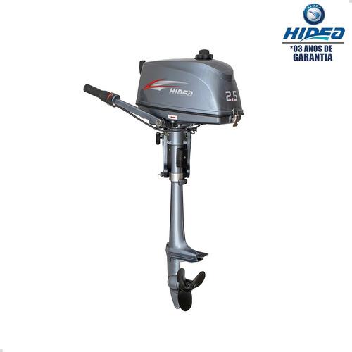 Imagem 1 de 4 de Motor De Popa Hidea 2 Tempos 2.5hp Fhs Pessoa Física