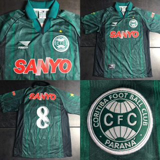 Camisa Coritiba 1998-1999 Away #8 Tam Gg Sanyo Penalty