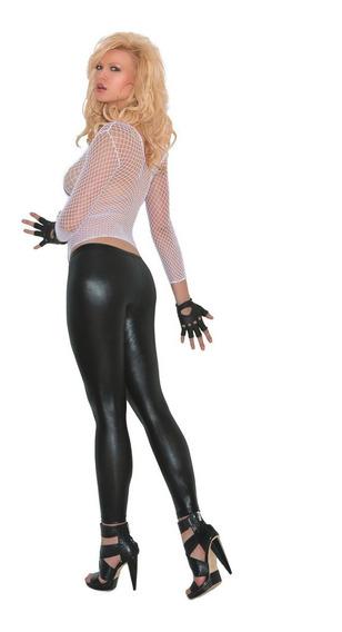 Leggings Pantalones Negros Charol 1598 Skinny Lenceria Goth