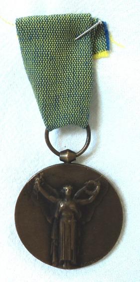 Antigua Medalla Primer Guerra Mundial La Gran Guerra 1918