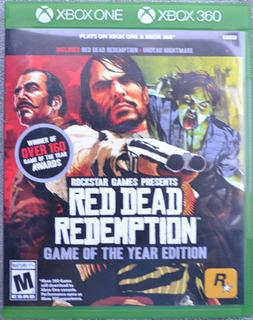 Red Dead Redemtion Goty Xbox 360 Y Xbox One Play Magic