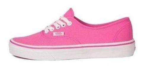 Tenis Vans- Authentic -rosa- Mujer- 38emmlu