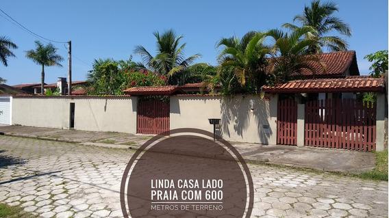 Casa Com Arvores Frutiferas Lado Praia Em Itanhaém Sp