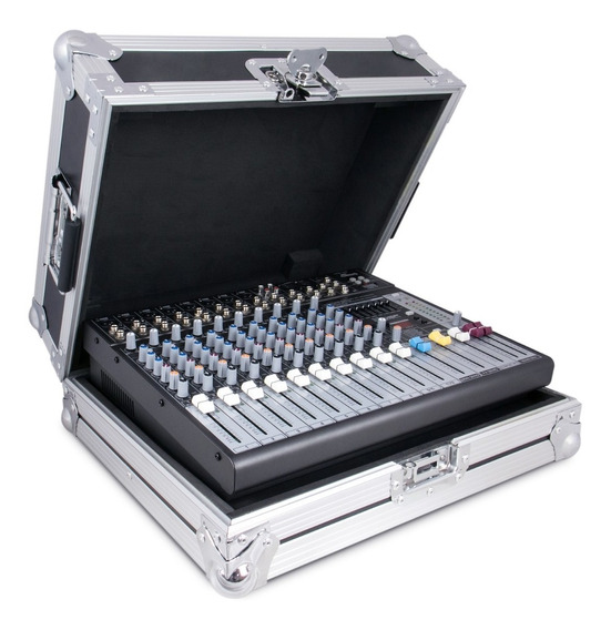 Mesa De Som Arcano Amix-12 Metal C/ Case Am-eq12