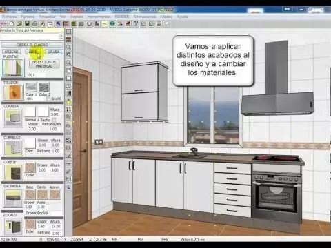 Programa Crear Diseñar Cocinas Y Muebles Casas - $ 99.00 en Mercado ...