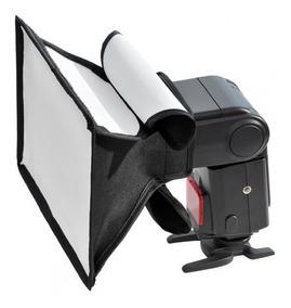Mini Softbox Difusor Rebatedor P Flash Dedicado 20x30cm