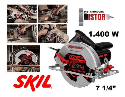 Sierra Circular 5402 Skil 184mm 7 1/4  1400w 6000rpm 45º-90º