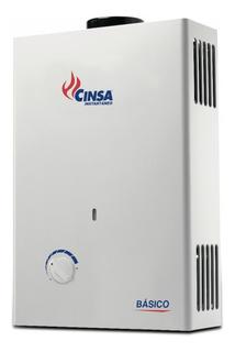Calentador De Paso Instantáneo Cinsa Cin-06 Básico Gas L.p.