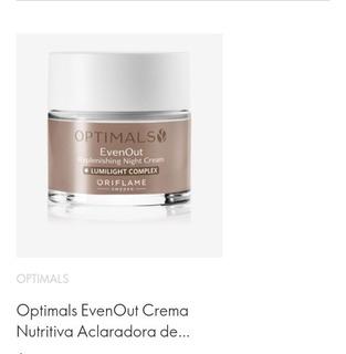 Oriflame Crema Aclaradora Y Nutritiva Lumilight Complex