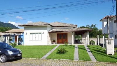 Casa Em Condomínio Para Venda Em Guapimirim, Caneca Fina, 3 Dormitórios, 2 Suítes, 4 Banheiros, 2 Vagas - 036