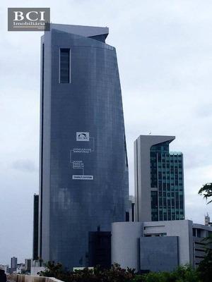 Sala Para Alugar, 51 M² Por R$ 3.000/mês - Ilha Do Leite - Recife/pe - Sa0043