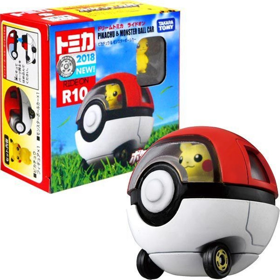 Carro Monster Ball E Pikachu #r10 Dream Tomica Ride On Tomy