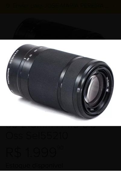 Lente Sony E 55-210 Oss