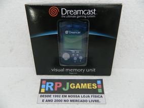 Vmu Memory Card Original Completo P/ Dreamcast - Loja No Rj