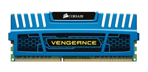 Imagem 1 de 1 de Corsair Vengeance Blue 16gb Ddr3 Memory Cmz16gx3m4a1600c9b