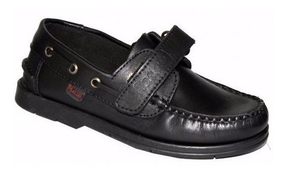 Colegiales Zapatos Abrojo Escolares Cuero Marcel 27 Al 41